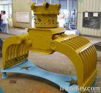 hydraulic rotary demolition & sorting grab