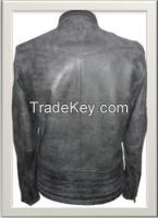Men's Motorbike Leather Jacket Style M-122115