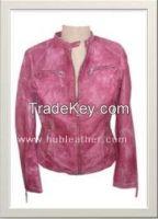 Women's Motorbike Leather Jacket Style F-122170M