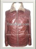 Men's Biker Leather Jacket Style M-122222M