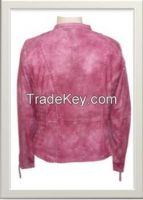 Women's Motorbike Leather Jacket Style F-122170M