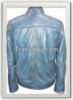 Men's Biker Leather Jacket Style M-122010