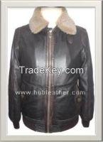 Men's Motorbike Leather Jacket Style M-122181