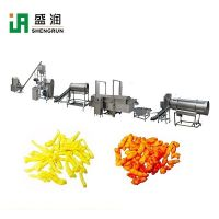Automatic Fried Corn Curls Kurkures Processing Line Making Machine