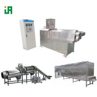 Puffed Dry Kibble Dog Food Extrusion Line Machine