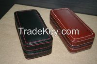 Double Zippere  watch boxes for men's watches