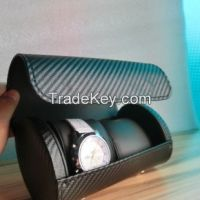 protable watch packaging box for  double watches