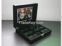 Personalized luxury showcase display box