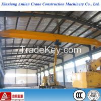 20T electric single girder workshop overhead crane