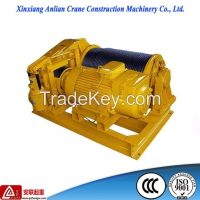 JK 1T construction use electric wire rope winch, Electric Winch
