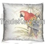 Decorative pillow with nice bird design