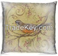 Pillow with nice bird design
