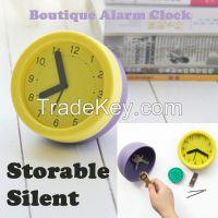 new products 2015 gift clock, unique quartz table clock