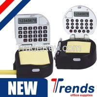 creative calculator tape measure with memo, innovative tape measuring