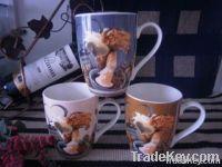 2014 New product New bone china mug wholesale