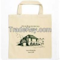 Best quality printed Vietnam cotton bags for shopping and promotion