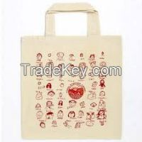 Factory hot sale nice design Vietnam cotton shopping bags