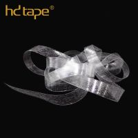 Garment accessories clear tpu elastic tape