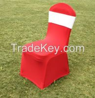 wedding spandex chair cover, banquet chair cover