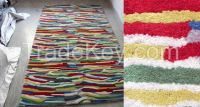 Hand Tufted, Hand Knotted, Hand-loom, Pit-loom, Punja loom, Cut-shuttle,