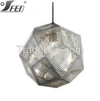 Colorful Tom Dixon Etch Shade stainless  Pendant Light