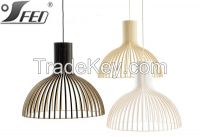 2015 new design hot sell Secto design wooden pendant lighting