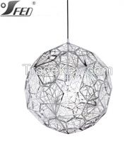 Tom Dixon Etch Light Web Chrome Pendant light shade