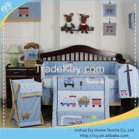 Happy elephant baby bedding set factory supply
