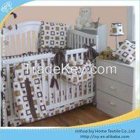 hot selling baby bedding set wicker baby crib