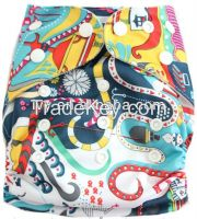 IVY reuseable baby cloth diaper 2015 FLUTE baby diapers
