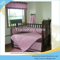 fashion baby bedding set wild animal crib bedding