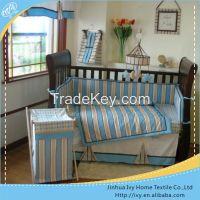 European Style Cotton Crib Baby Bedding Set wm audit girls bedding set