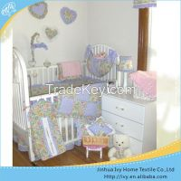 Authentic embroidery bedding kids