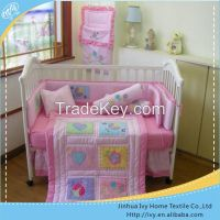 2015 New patchwork embroidered baby cot quilts