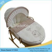 china factory baby basket set solid wood basket