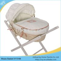 promotion baby basket set straw basket weaving