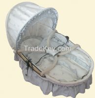 new product baby basket set willow moses basket