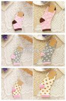 Point pattern child socks children 100% cotton socks