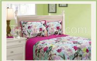 Cotton fabric quilted Technics and Printed Pattern quilt