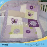 printing baby bedding set quilt wholesale curtain and beddings