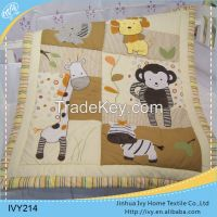 china wholesale cotton baby quilt white fabric textile