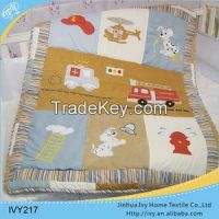 hot sell cotton comforter baby quilt wholesale baby blankets