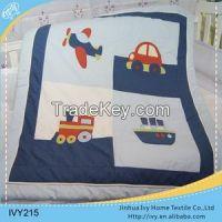 Brand new baby quilt white pillowcase