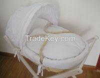 Sleeping baby moses basket covers