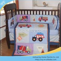 2015 high quality embroidery design bedding set full bed jacquard warm comfortably quilt