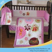 2015 Lion embroidery baby bedding set full bed jacquard hypo allergenic duvet factory