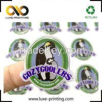 Custom design polyurethane label epoxy resin dome sticker / raised log