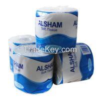 Soft toilet tissue paper