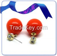 Hot sale earring jewelry ,new design ball earring, fashion earrings ball jewelry