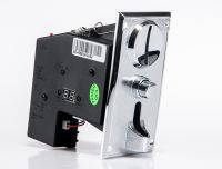 ZINC ALLOY plate coin acceptor with coin operated Timer Control Board Power Supply box